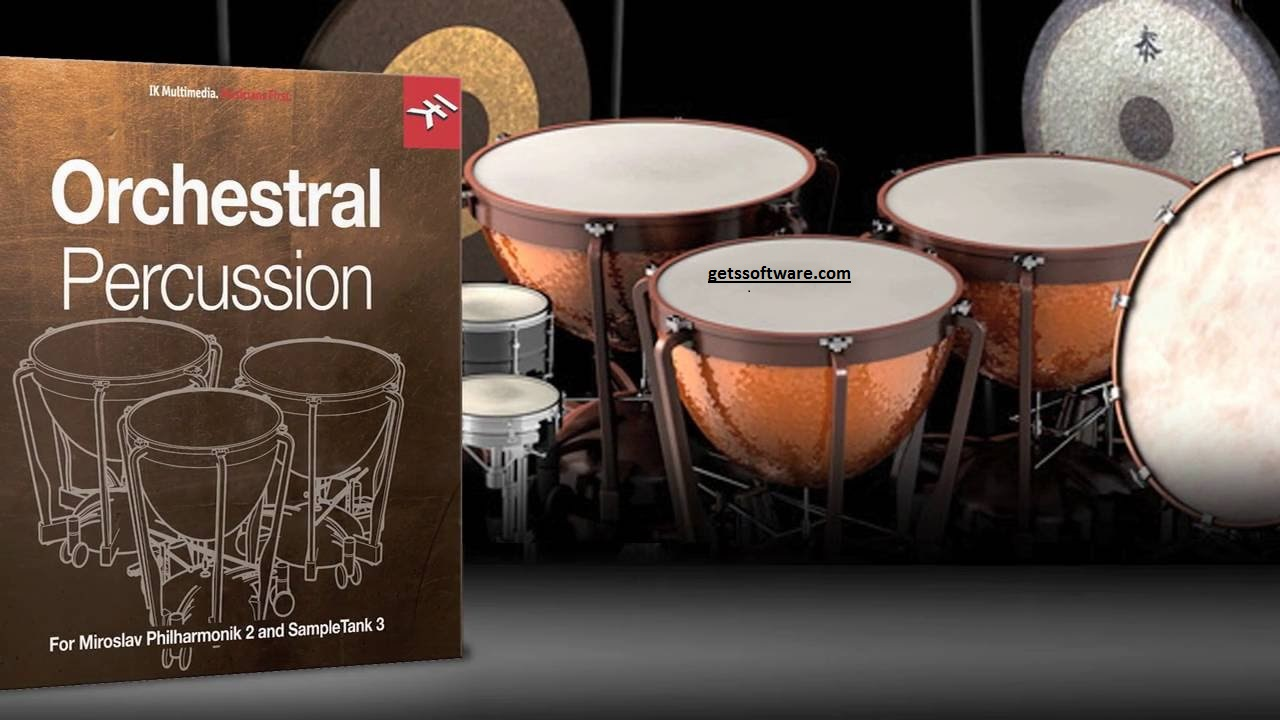 Orchestral Percussion SDX Crack Free Download {Win+Mac}