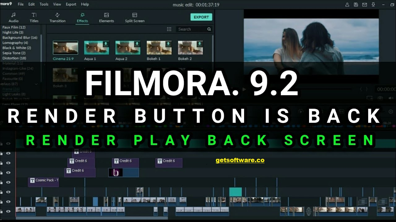 Filmora 9 Crack With Download , Free key & System Requirements