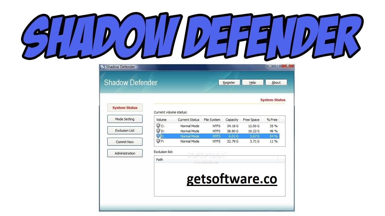 Shadow Defender 1.5.0.726 Crack with key , Download & Crack
