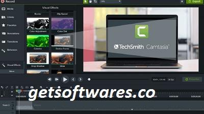 Camtasia Studio  Crack + License Key Full Download