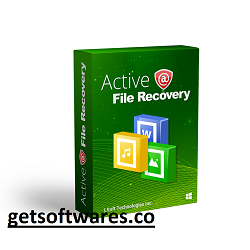 Active file recovery crack With key download for PC and Mac