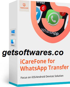 Tenorshare iCareFone Crack + Serial Key Free Download 2021