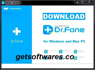 Wondershare Dr.Fone Toolkit for iOS Crack