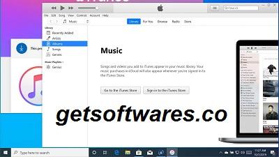 iTunes 12.11.0.26 Crack + Latest Version Full Download 2021