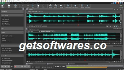WavePad Sound Editor 12.52 Crack + License Key Full Download 2021