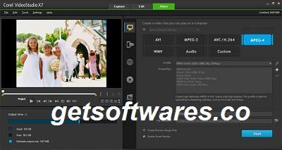 Corel VideoStudio Pro 2021 24.0.1 Crack + Keygen Full Download