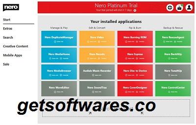 Nero Platinum 23.5.1 Crack + Serial Key Free Download 2021
